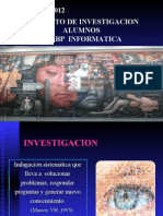 Como Hacer Una Investigacion2012