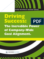 SG KE BNET the Incredible Power of Company Wide Goal Alignment