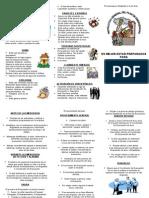 Instructivo General Plan de cia y de Evacuacion
