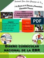 Diseño curricular nacional de la EBR 2