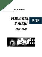 Revolucija u Lici 1941-1945 Mane Pesut