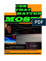issues that matter most planet x part i