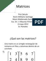 Matrices (Grupo ZETA)