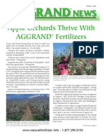 Apple Orchards Thrive With Aggrand Fertilizers