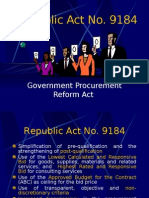 Republic Act No. 9184