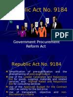Republic Act No. 9184