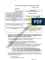 EEMSA - Gastos Erogados en Argentina y Brasil