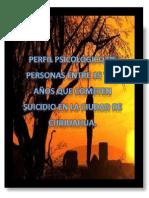 Investigacion Perfil Psicologico en Suicidas