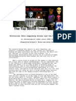 Top Secret Treaty between the Aliens and the US Government