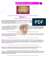 Puntos Sobresalientes de Biblia - Nahum 1 - Habacuc 3