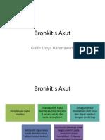 Bronkitis Akut Galih
