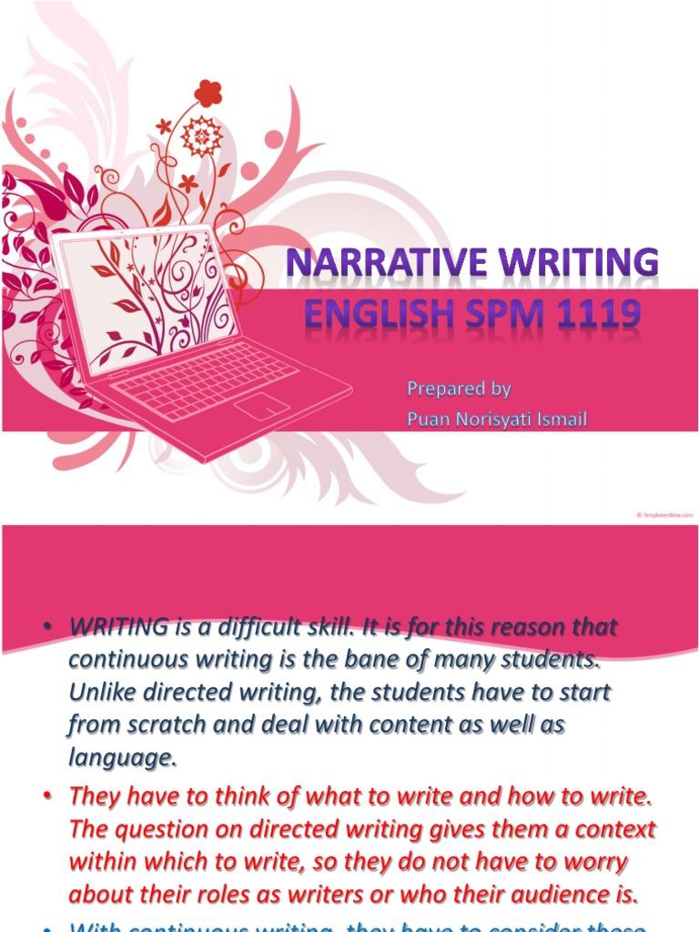narrative essays.com