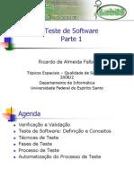 Aula 6 - Teste de Software - Parte 1