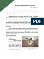 UNA LISTA PRELIMINAR DE MAMÍFEROS PARA EL VALLE DEL CUSCO
