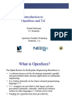 Introduction Open Sees