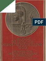 3 Große Deutsche Kunstausstellung 1939 im Haus der Deutschen Kunst zu München, 16. Juli bis 15. Oktober 1939. - München  Knorr & Hirth, 1939