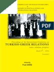 Fuat Aksu (ed.), Proceedings of the International Conference on Turkish-Greek Relations
