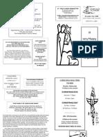 St Felix Parish Newsletter - 4th Sunday of Advent '08