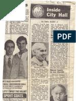 1984 - June 15 - Sun-Times - Inside City Hall - Politics of Softball David