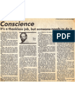1987 - Aug 9 - Lerner - Conscience (It's a Thankless Job, But...) About David