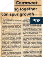1987 - Aug 9 - Lerner - Letter to Editor From David (Working Together Can Spur Growth)