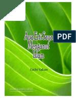 [fathi yakan] apa artinya saya menganut islam