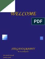 STEGANOGRAPHY
