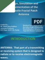 Turnstile Fractal patch Presentation