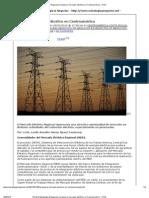 Avanza el mercado eléctrico en Centroamérica