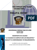 Phillip b. Crosby Calidad