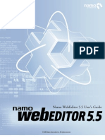 WebEditor 5 Manual