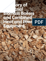 Directory of Industrial Biomass Boilers and Combined Heat and Power