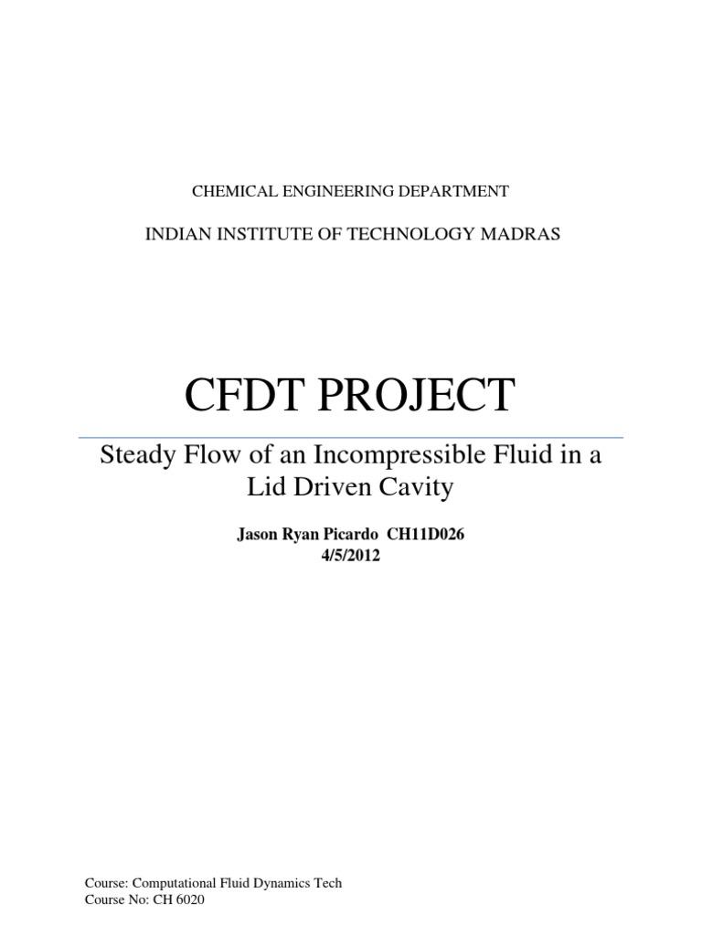 Lid Driven Cavity_SIMPLE   Fluid Dynamics   Computational Fluid Dynamics