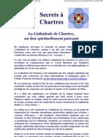 La Cathédrale de Chartres, un lieu spirituellement puissant