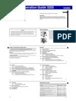Qw3255 casio GDF100-1A manuals