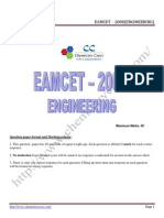Eamcet 2008 Engg