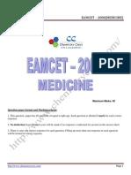 Eamcet 2008 Med