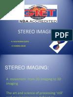Stero Imaging