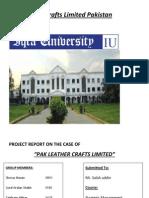 Pak Leather Crafts Limited Pakistan