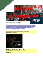 Noticias Uruguayas sábado 5 de mayo de 2012