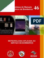 83682382 Mtb 46 Meteorologia Aplicada Ao Servico de Bombeiros