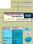 Using Adverb Clauses to Show Time Relations, By Dr. Shadia
