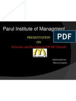 Mcdonald Ppt by Bhavesh