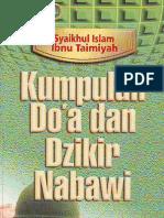 [ibn taimiyah] kumpulan doa & dzikir nabawi