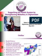 Turkmani_Midwifery Model in Afghanistan
