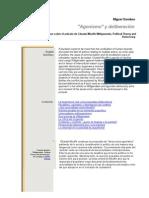agonismo y deliberaxcion - miguel gamboa