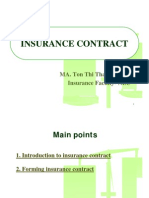 NH TC STU Lecture 2 Insurance Contract TTH 2012