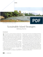 Sustainable Island Strategies