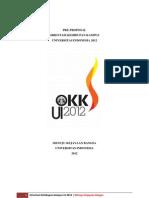 Pre-Proposal OKK UI 2012