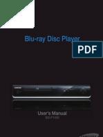 BD P1400 Manual